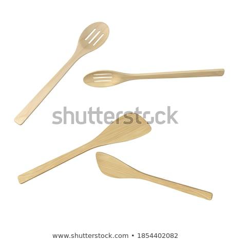 кухне · щипцы · белый · металл · инструменты · приготовления - Сток-фото © trgowanlock