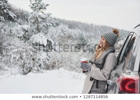 Pretty Girl in Woods stock photo © cardmaverick2