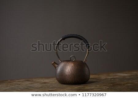 Old copper pot Stock photo © RazvanPhotography