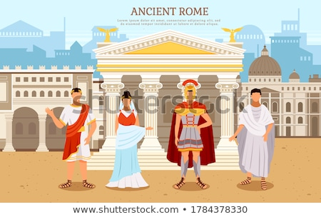 Anciente Rome Stock photo © ajlber