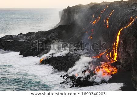 Pacific ocean  cliff. Stock photo © iofoto