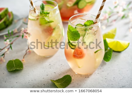 Stock photo: lemon cocktail