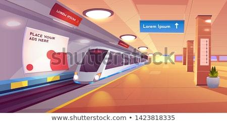 Metro Station Stock photo © zzve