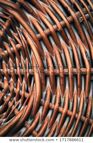 плетеный · соломы · коричневый · текстуры · аннотация - Сток-фото © sfinks