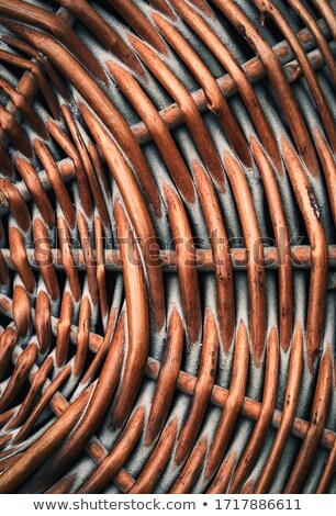 brown basket weave pattern Stock photo © sfinks