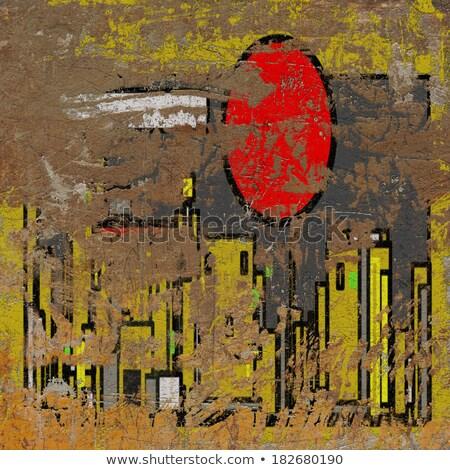 3D grunge ściany tle ukryty Zdjęcia stock © Melvin07