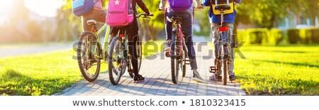 ciclisti · equitazione · due · giovani · atleta - foto d'archivio © fisher