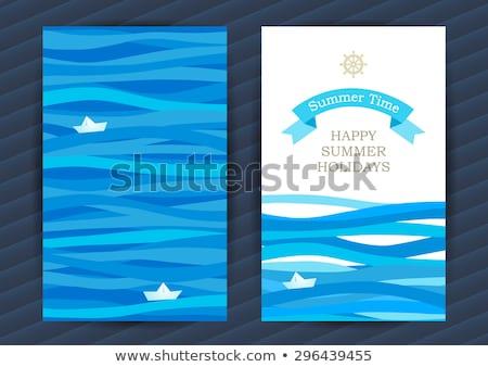 Sea life  on a boat Stock photo © Hofmeester