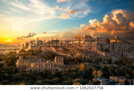 Acropolis in the evening  Stock photo © AndreyKr