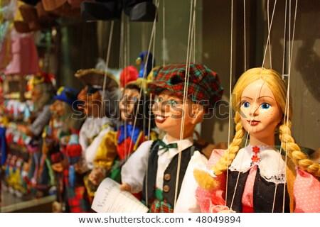 prague marionettes stock photo © pedrosala