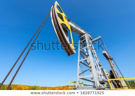 the pumpjack stock photo © flipfine