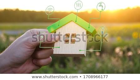the house information stock photo © flipfine