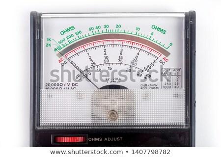 AC DC Voltage testing meter Stock photo © njnightsky