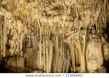 kaya · oluşumu · İspanya · kanyon · gökyüzü · duvar · soyut - stok fotoğraf © wjarek