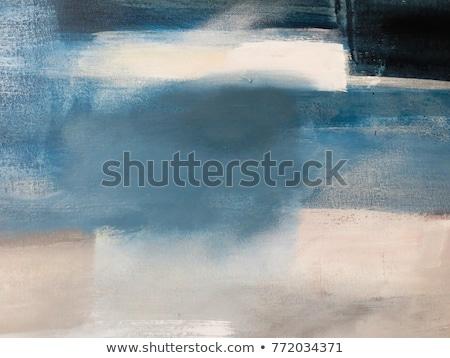 Kék absztrakt festmény papír háttér retro Stock fotó © Kheat