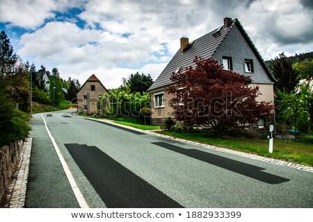 townscape Bautzen in Upper Lusatia Stock photo © LianeM