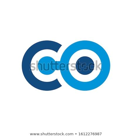 Letra c lata branco água escolas fundo Foto stock © bluering