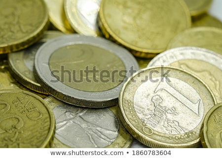 Close up of Italian euro coin. Business concept Stock photo © Kirill_M