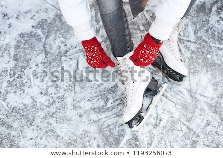 skating on ice Stock photo © adrenalina