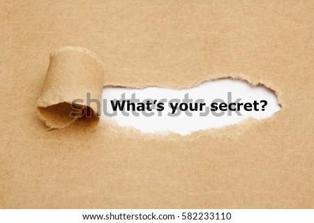 feiten · waarheid · verborgen · gescheurd · papier · gat · woord - stockfoto © ivelin