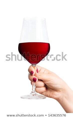 ウエートレス ワイングラス 女性 ホテル ワーカー ストックフォト © wavebreak_media