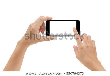 Woman's hand taking a picture Stock photo © IS2