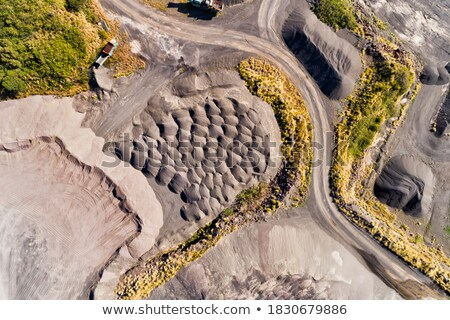 玄武岩 列 風景 岩 美しい 石 ストックフォト © romvo
