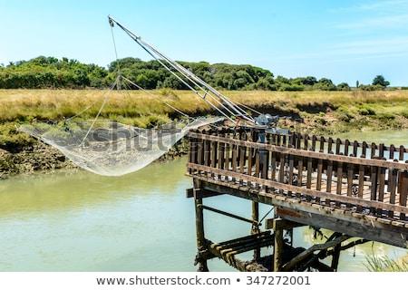 漁網 島 フランス ストックフォト © phbcz