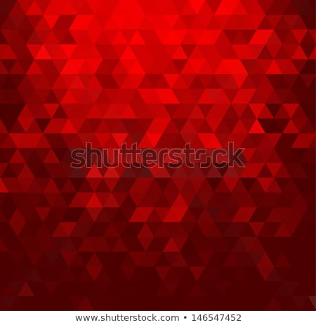 christmas glitter elements on red background stock photo © derocz