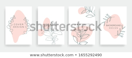 Creative mood board - colorful vector background template Stock photo © Decorwithme