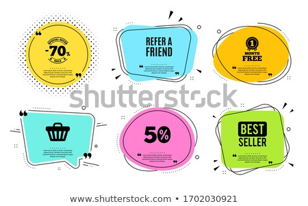 Best Price Promotional Banner, Coupon for Client Stock photo © robuart