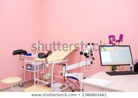 Gynecological cabinet in modern clinic Stock photo © olira