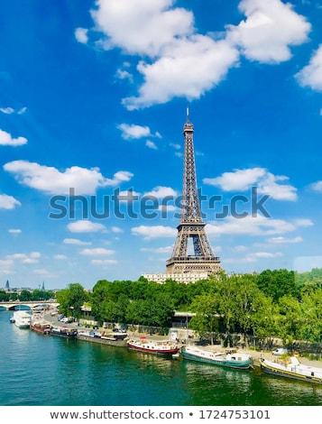 エッフェル塔 青空 有名な ランドマーク パリ フランス ストックフォト © Anneleven