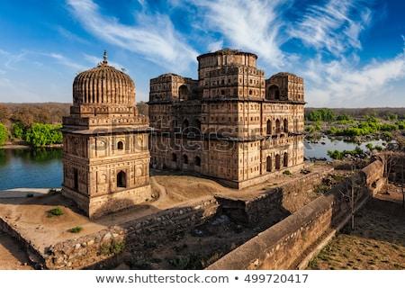 Real Índia arquitetura indiano antigo túmulo Foto stock © dmitry_rukhlenko