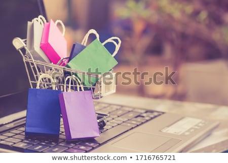 Vásárlás függőség áruház kötél vásárol ár Stock fotó © pterwort