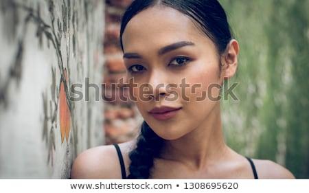 thai ladyboy portrait stock photo © smithore