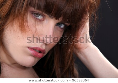 Rebellious woman with unkempt hair Stock photo © photography33