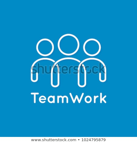 抽象 團隊 圖標 朋友 組 公司 商業照片 © pathakdesigner