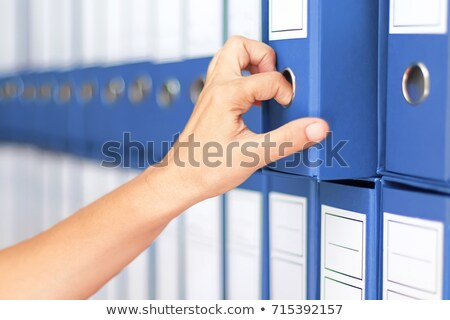 Working with folders in hands Stock photo © photography33
