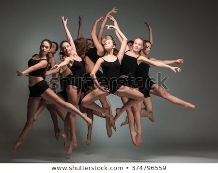 Modern ballet dancer Stock photo © Forgiss