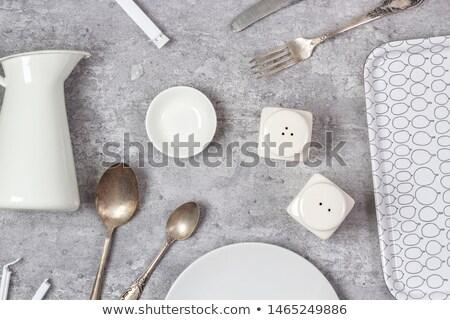 Ceramic salt shaker Stock photo © ondrej83