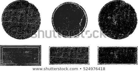 Grunge scratched stamp icon Stock photo © Myvector