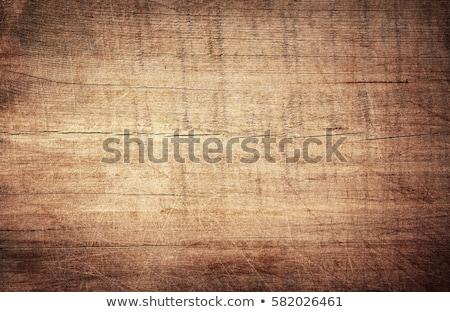 Bois lumineuses décoration couvert mur étage Photo stock © bendzhik