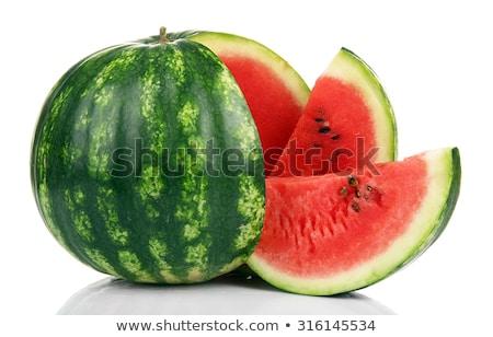 melancia · isolado · branco · verde · semente - foto stock © moses