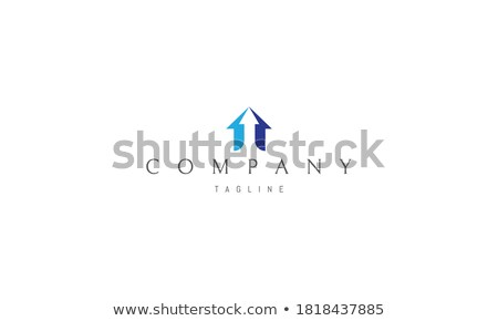 Abstract color business symbol with 3 archs Stock photo © MONARX3D
