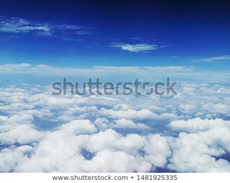 üzerinde görmek bulutlar gökyüzü doku Stok fotoğraf © fxegs