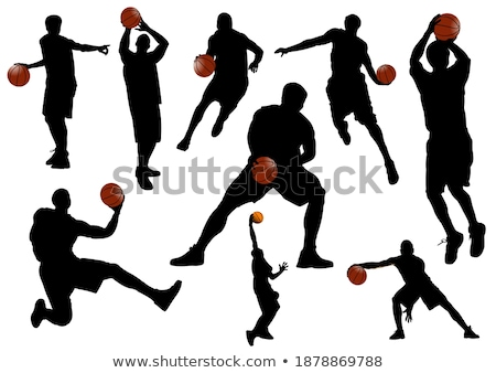 баскетбол · аннотация · краской · фон · искусства - Сток-фото © leonido