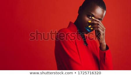 woman staring into space stock photo © andreypopov
