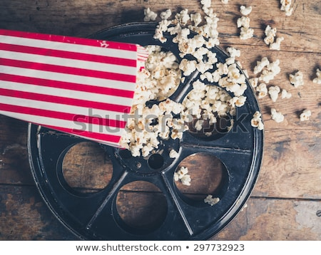 Movie and Popcorn Stock photo © songbird