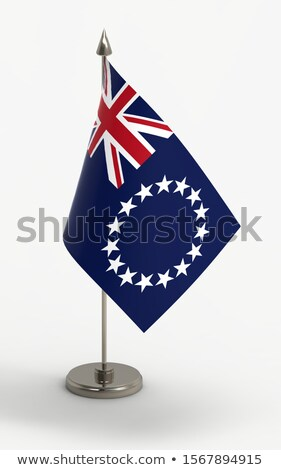 Miniature Flag of Cook Islands stock photo © bosphorus